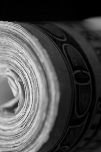 """Money Roll 2"" by Zach McCarthy"