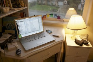 """Working at Home"" by Bob Cotter"